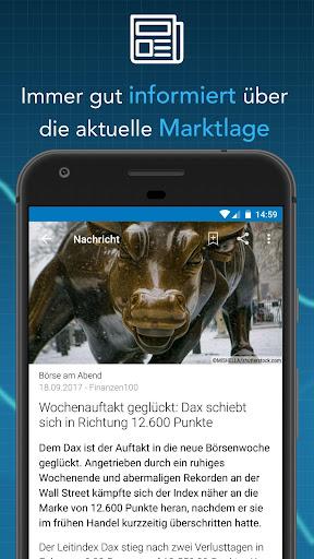 Finanzen100 - Börse, Aktien & Finanznachrichten  screenshots 5