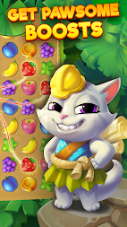 Tropicats: Free Match 3 on a Cats Tropical Island APK screenshot thumbnail 2