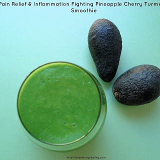 Pain Relief & Inflammation Fighting Pineapple Cherry Turmeric Smoothie