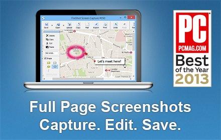 how to take a screenshot of a long webpage