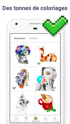 Pixel Art: Livre de peinture à numéros  captures d'écran 2