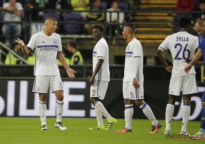 Anderlecht s'incline contre Rostov et manque son premier objectif
