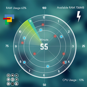 Radar Theme Total Launcher v1.0 APK