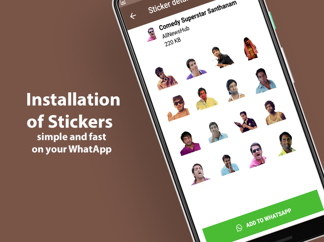 Tamil Stickers for WhatsApp - WAStickerApps APK Latest