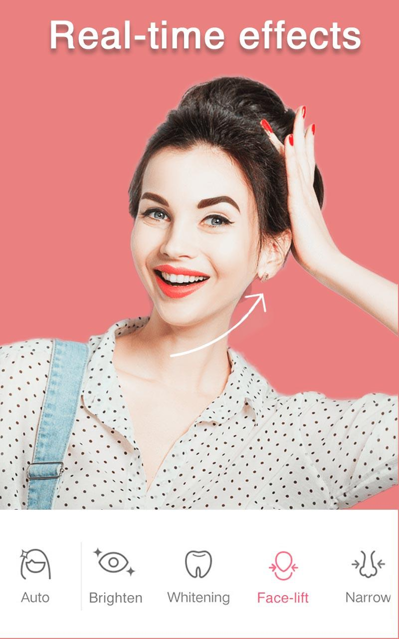 Sweet Selfie Pro - No Ads, Unique Filter & Sticker Screenshot 0