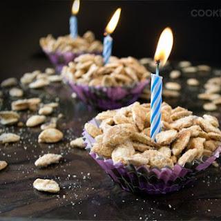 Birthday Cake Flavored Roasted Pumpkin Seeds