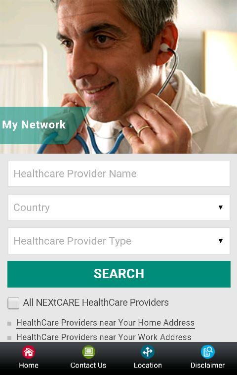 NEXtCARE- screenshot