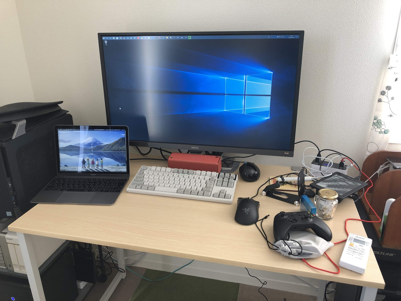 BenQ EW3270U(4K/HDR/VA) を買った