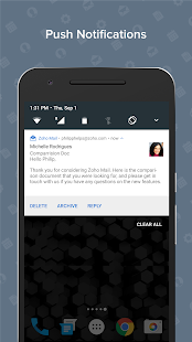 Zoho Mail- screenshot thumbnail