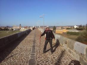 Photo: Etapa 19. Puente del Passo Honroso sobre el Órbigo. Hospital de Órbigo