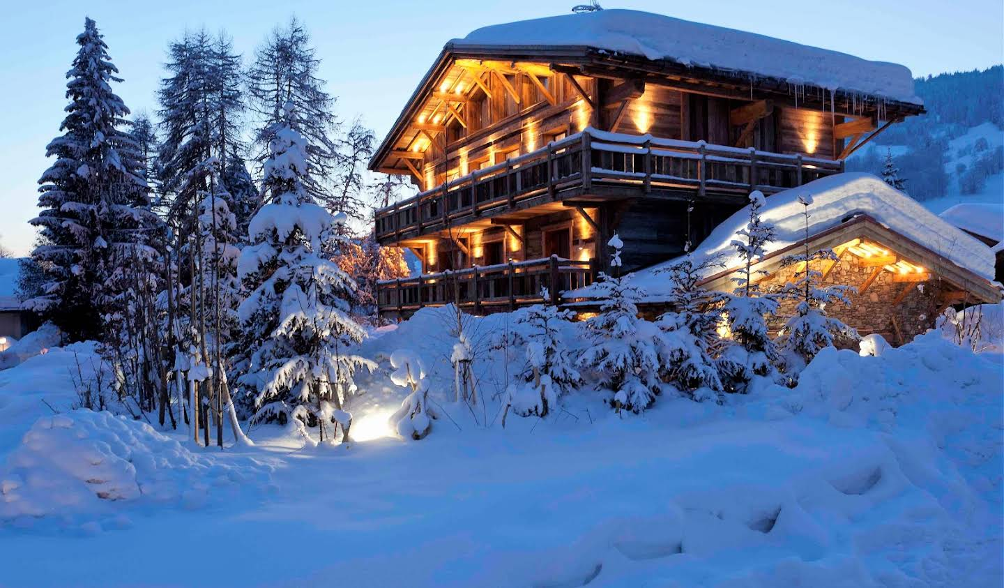 Chalet with panoramic view Megeve