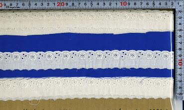 Photo: №016866-118綿ダブルガーゼ:巾30mm