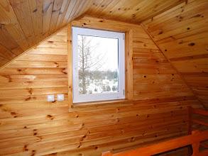 Photo: Okno na pierwszym piętrze apartamentu w budynku B.