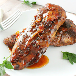 Honey Bacon Glazed Chicken
