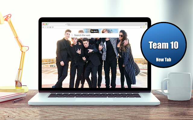 *NEW* HD Team 10 Wallpapers New Tab Theme