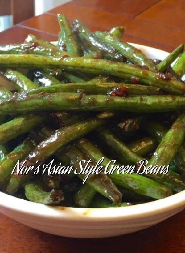 Green Beans Asian Style Stir Fry Recipe