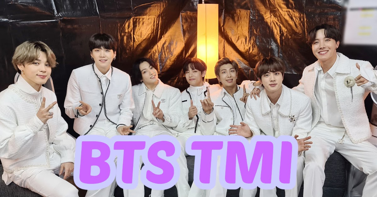 Here's Some Random TMI About BTS That You Might Not Have Known About