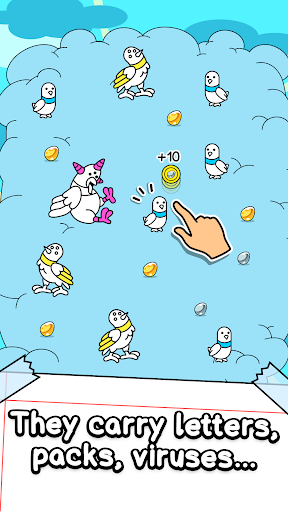 Pigeon Evolution - Merge & Create Mutant Birds 1.0.1 screenshots 2