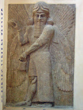 Photo: King Sargon II in Khorsabad .......... Koning Sargon II in Khorsabad