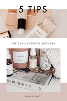 Small Business Saturday Tips - Pinterest Pin item