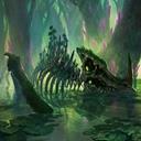 Dinosaur bones fantasy