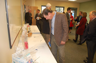 Photo: Tommy checks out the auction.
