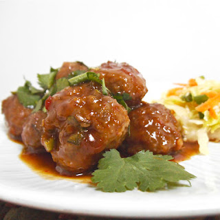 Viet-Thai Sweet and Sour Meatballs