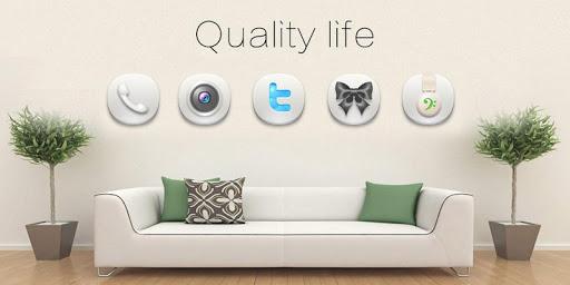 玩免費個人化APP 下載Quality Life IIGOLauncherTheme app不用錢 硬是要APP