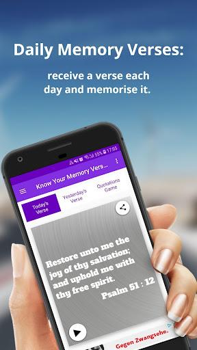 Bible Verses Memorisation Game - KJV - Offline apktreat screenshots 1