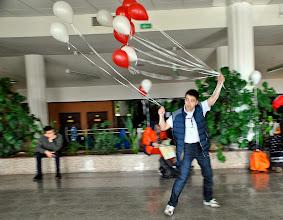 Photo: Зум и шариковое кунг-фу. К сожалению, большое фото оказалось размытым :(