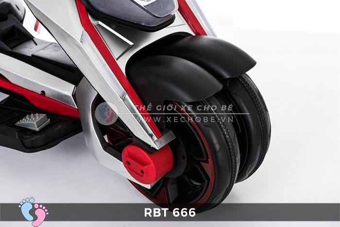 Xe mô tô điện trẻ em 3 bánh RBT-666 8