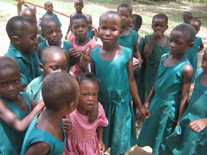 Photo: Children at the school for the visually impaired