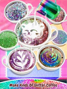 Glitter Coffee – Make The Most Trendy Food 3