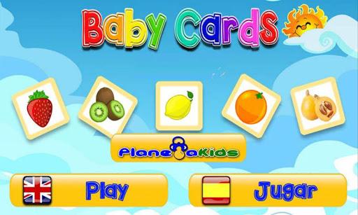Baby Cards Frutas