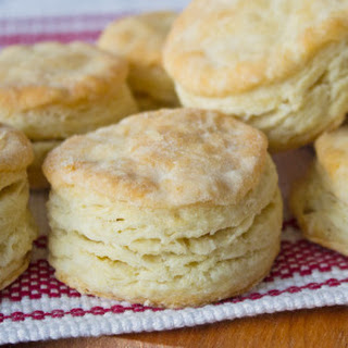 Flaky Buttermilk Biscuits.