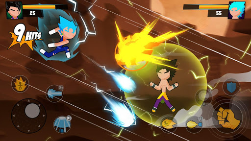 Super Dragon Stickman Battle - Warriors Fight screenshots 6