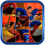 Super Heroes Puzzles Game Icon