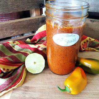 Roasted Pepper Hot Sauce
