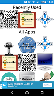 Swiss Army App - náhled