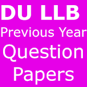 Old Q.Sets DU LLB in PDF
