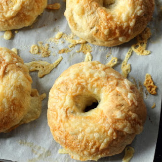 Asiago Cheese and Rosemary Bagels