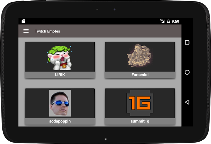 Twitch Emotes On Google Play Reviews Stats