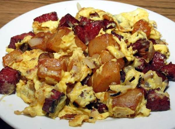 Scrambled Winter Breakfast (hoppelpoppel)