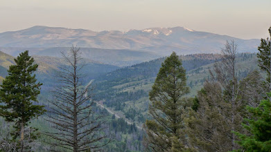 Photo: View of Red Mountain from near Stemple Pass earlier this summer.