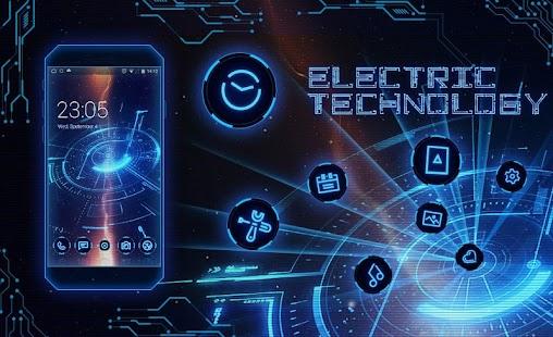Electrical Technology Electric Screen Theme Screenshot Thumbnail