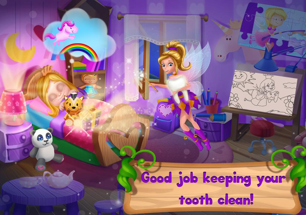 Tooth Fairy Princess: Cleaning Fantasy Adventure- screenshot