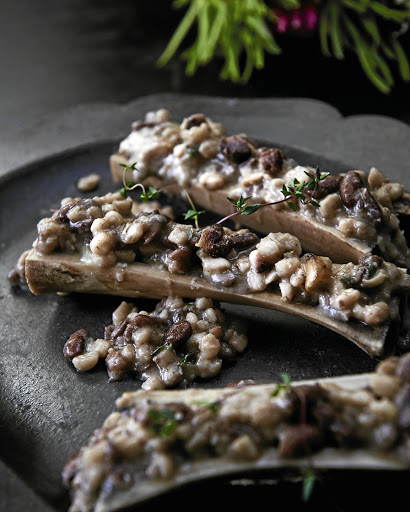 Recipe Samp And Beans In Bone Marrow