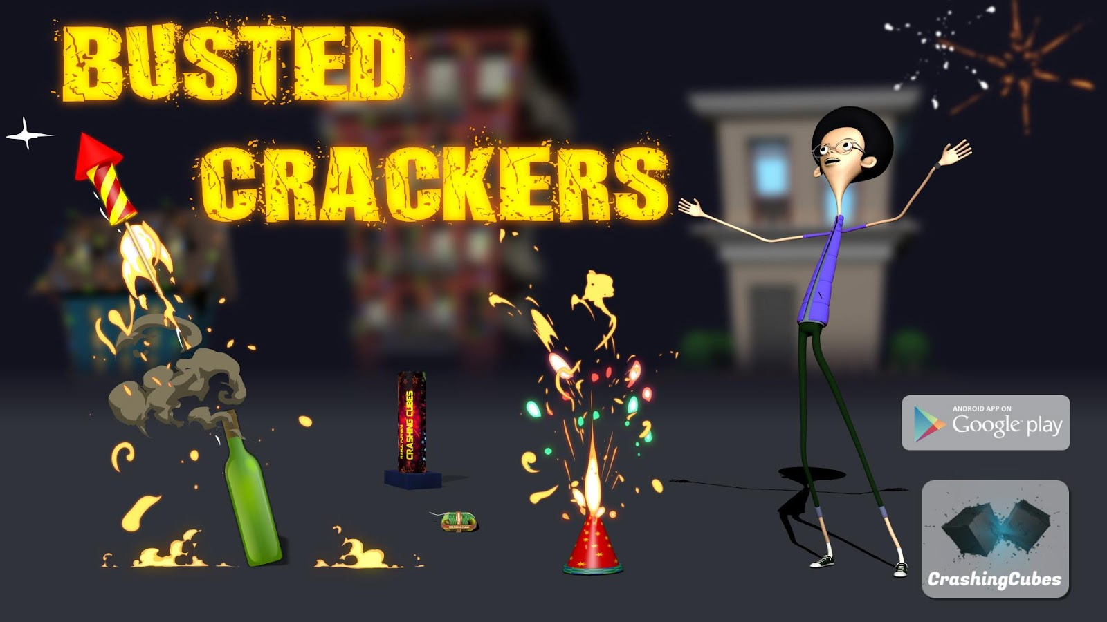 Busted Crackers- screenshot