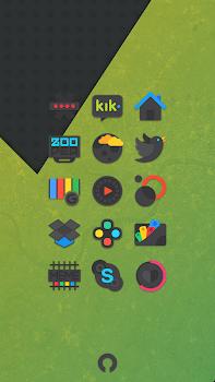 Crispy Dark - Icon Pack(SALE!)