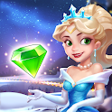 Jewel Princess - Match 3 Frozen Adventure icon